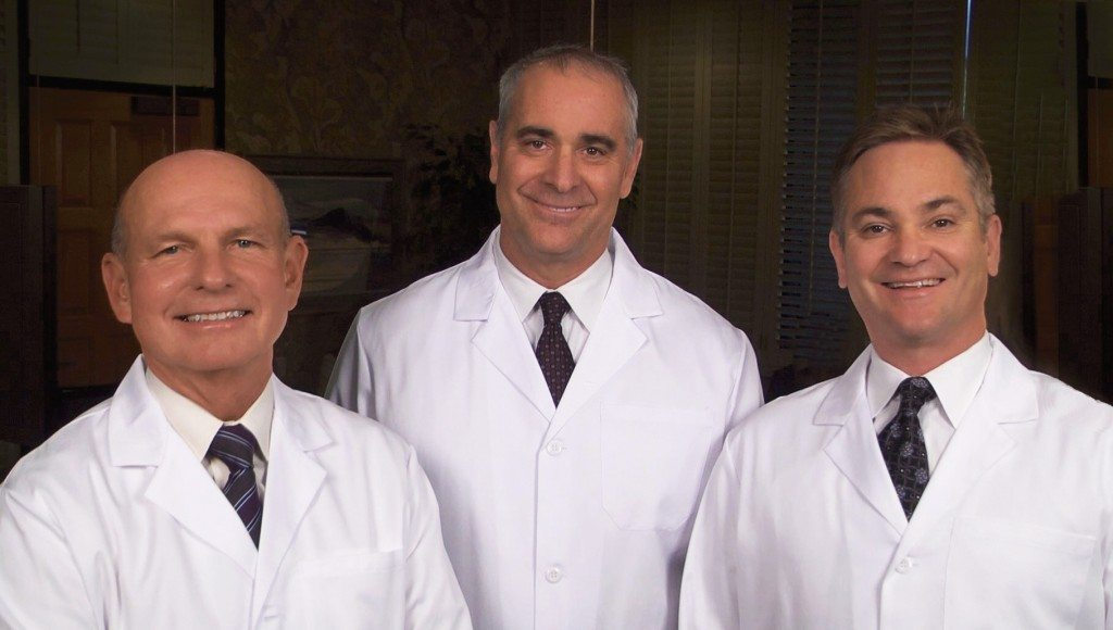Drs. Lytle, Tate, and Stamper Portrait